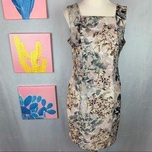 H&M Square Neckline Floral Dress 12